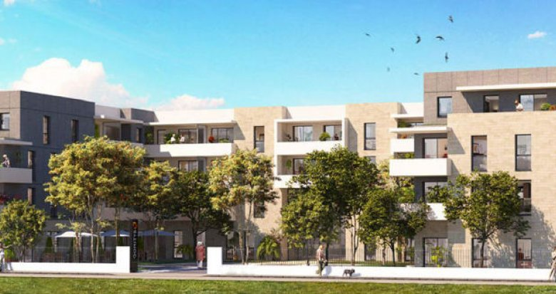 Achat / Vente programme immobilier neuf Villenave d'Ornon services seniors (33140) - Réf. 2456