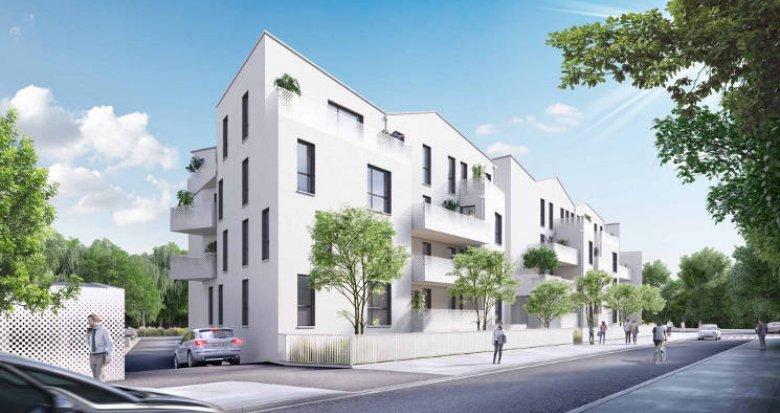 Achat / Vente programme immobilier neuf Villenave d'Ornon au cœur du quartier des Lacs (33140) - Réf. 5909