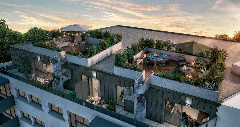 Achat / Vente programme immobilier neuf Villenave d'Ornon aux portes de Bordeaux (33140) - Réf. 6214