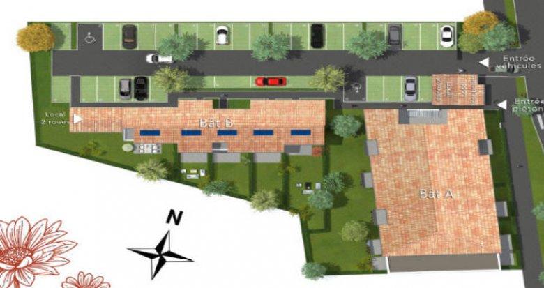 Achat / Vente programme immobilier neuf Villenave d'Ornon cœur quartier Bocage (33140) - Réf. 4880