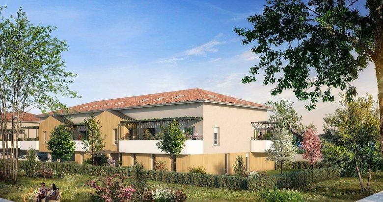 Achat / Vente programme immobilier neuf Villenave-d'Ornon proche du Golf (33140) - Réf. 6203