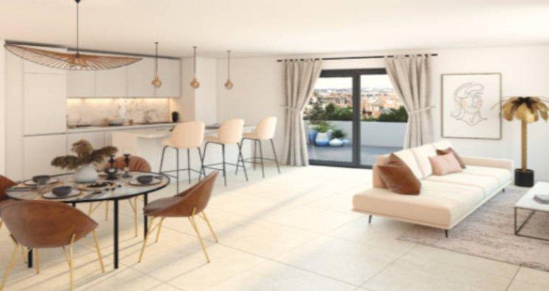 Achat / Vente programme immobilier neuf Villenave-d'Ornon proche stade Trigant (33140) - Réf. 5829