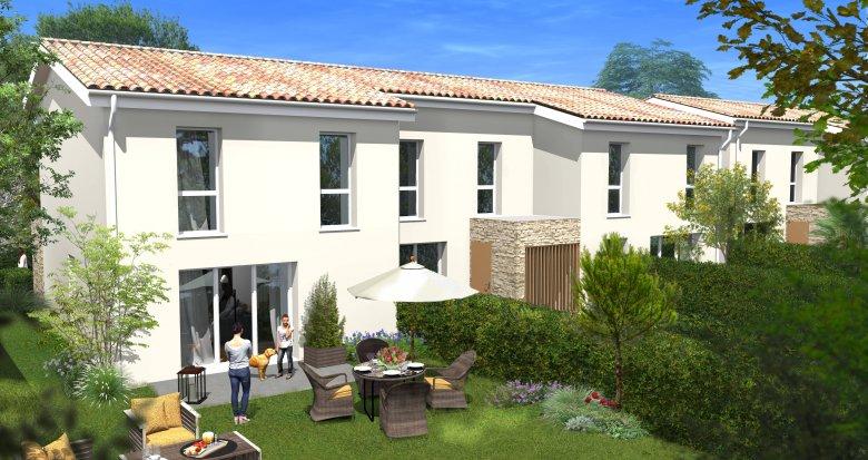 Achat / Vente programme immobilier neuf Villenave-d'Ornon secteur pavillonnaire calme (33140) - Réf. 6104